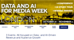 8th Data & AI for media Week w Londynie