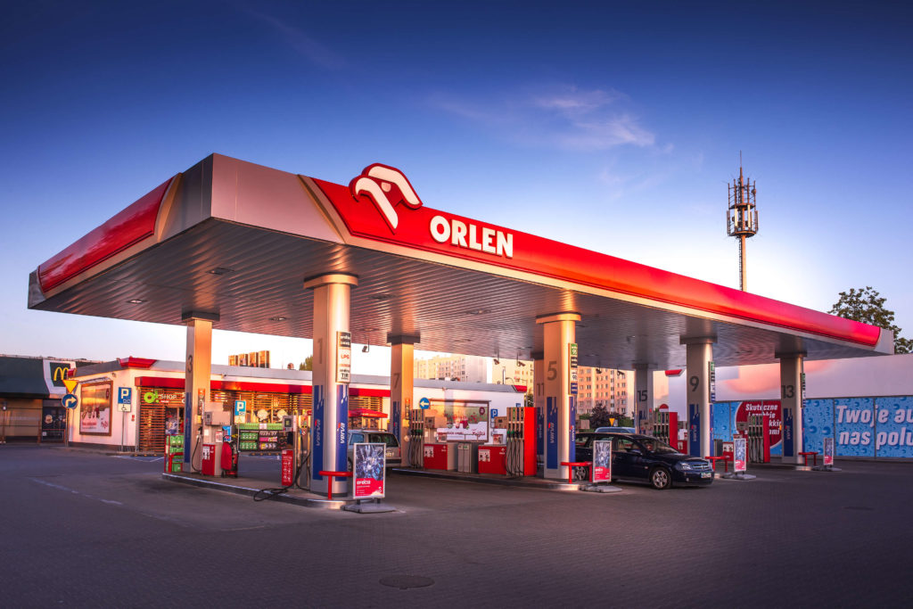 Stacja benzynowa Orlen