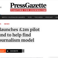 Rząd W. Brytanii przeznaczy 2 mln funtów na pilotażowy program wsparcia mediów regionalnych
