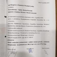"""Sąd w Zamościu cofnął """"Tygodnikowi Zamojskiemu"""" zakaz publikacji o miejskiej spółce"""
